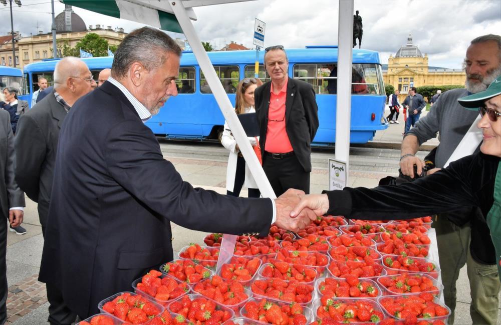 Otvoreni su Dani zagrebačkih jagoda, od danas se domaće